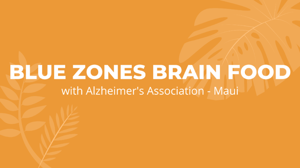 Blue Zones Brain Food