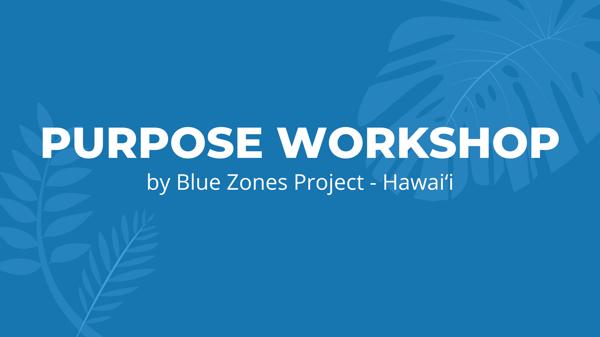 Purpose Workshop-2