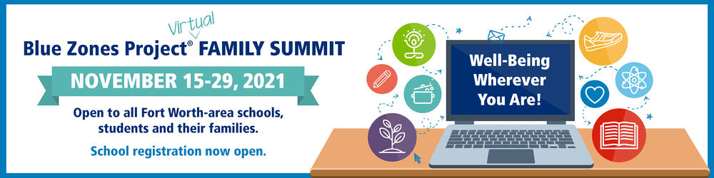 Blue Zones Project Virtual Family Summit